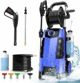 TEANDE 3800PSI Electric Pressure Washer, 1800W 2.8GPM Power Washer
