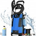 TEANDE 3800PSI Electric Pressure Washer 2.8GPM 1800W High Power Cleaner with 1 L Large Soap Bottle